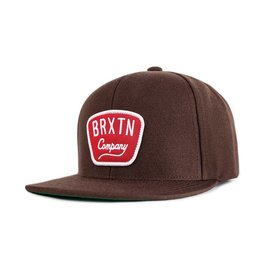Brixton Brixton Gaston Snapback - Brown