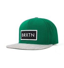 Brixton Brixton Rift Snapback - Hunter/Heater Grey
