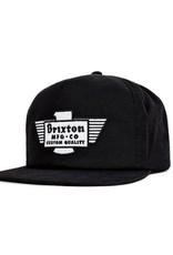 Brixton Brixton Cylinder Snapback - Black