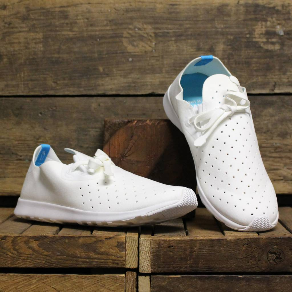 Native Apollo Moc S White Rubber
