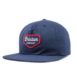 Brixton Brixton Novato Snapback - Navy