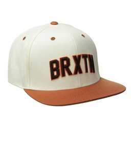 Brixton Brixton Hamilton Snapback - White/Burnt Orange