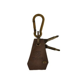 Brixton Brixton Haven Keychain Antique Bronze
