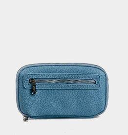 Colab Colab #442 PVC World Wallet - Light Blue