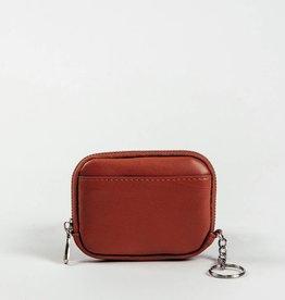 Colab Colab #4888 PVC Mini World Wallet - Cognac