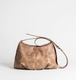 Colab Colab #5581 PVC Emily Slouchy Crossbody - Taupe
