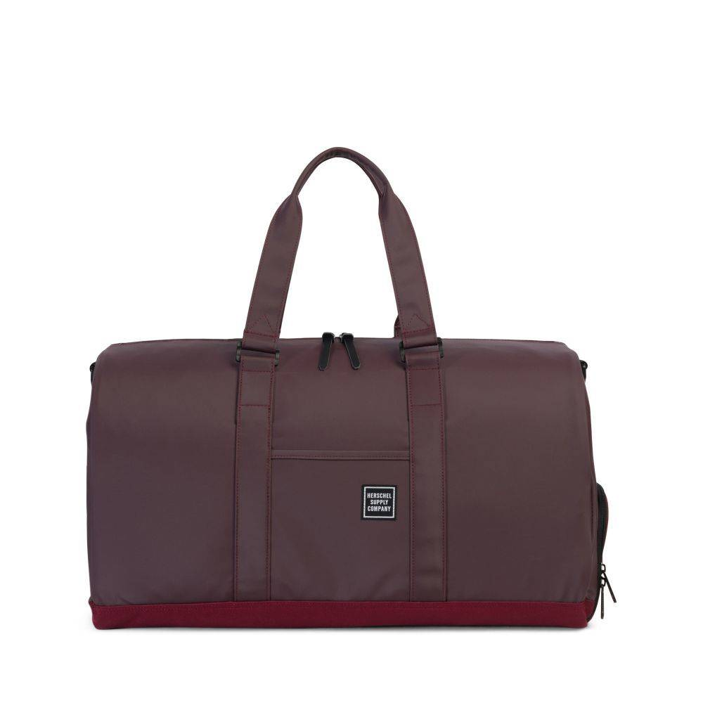 Herschel Herschel STUDIO Novel Duffle - Windsor Wine Polycoat
