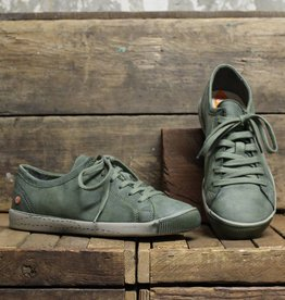Softinos Softinos ISLA Washed Leather - Forest Green