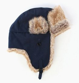 Penfield Providence Classic Trapper Hat - Navy