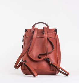 Colab Colab #5862 PVC Backpack - Vermillion