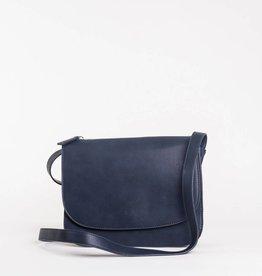 Colab Colab #5822 PVC Saddle Bag - Ink Blue