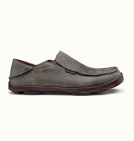 Olukai Olukai Moloa - Storm Grey/Dark Wood
