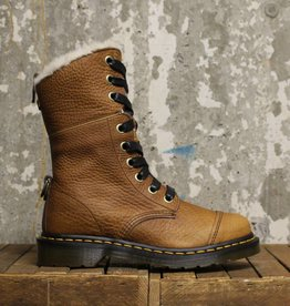 Dr Martens Dr Martens Aimilita Fur Lined (Grizzly) - Tan Grizzly