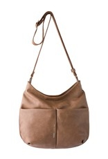 Slang Slang Network Medium Cross Bag - Dark Beige