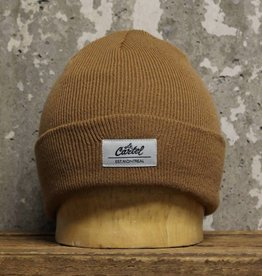 Le Cartel Le Cartel Classic Beanie - Light Brown