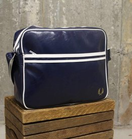 Fred Perry Fred Perry Classic Shoulder Bag - Navy/Écru