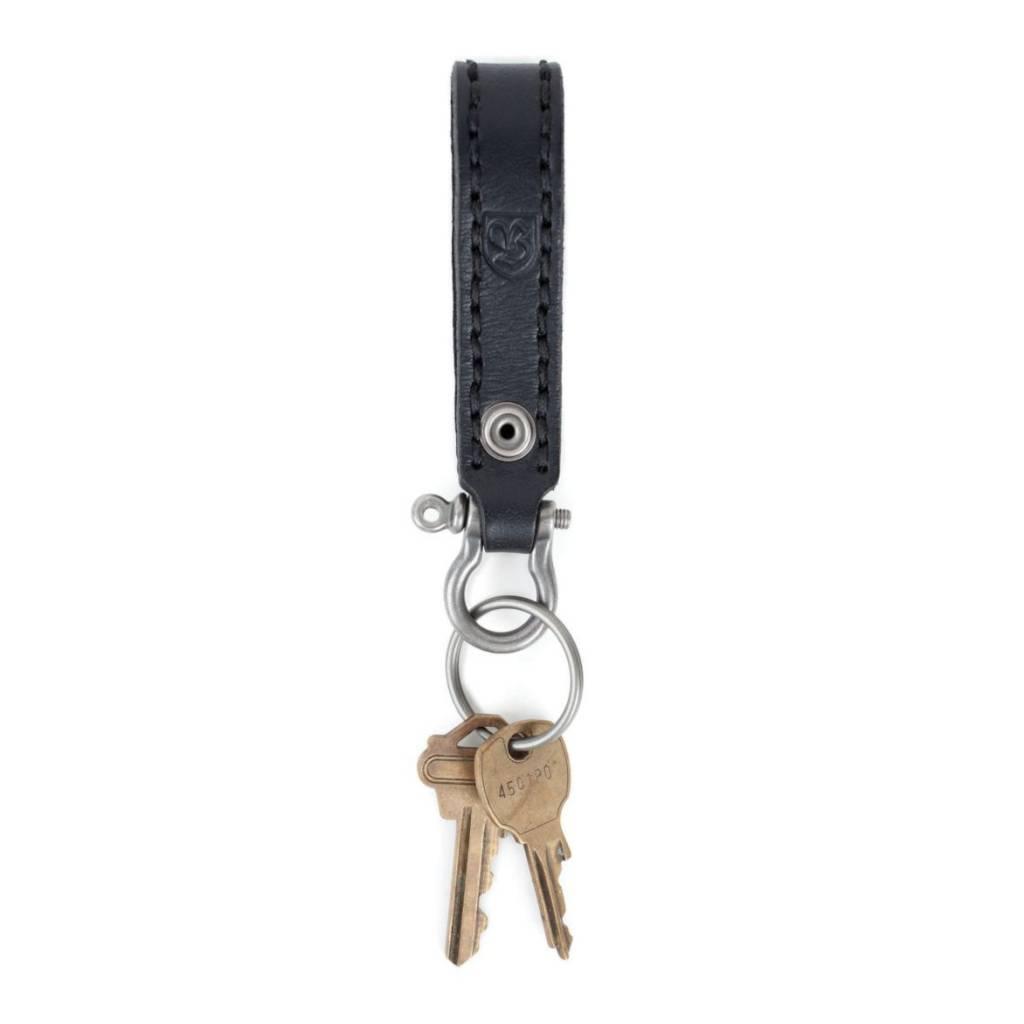 Brixton Brixton Burnside Keychain - Black