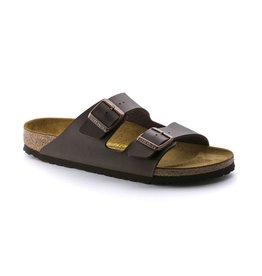 Birkenstock Birkenstock Arizona Birko-Flor (Men) - Dark Brown