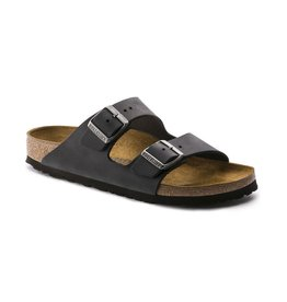 Birkenstock Birkenstock Arizona Oiled Leather (Men - Regular) - Black