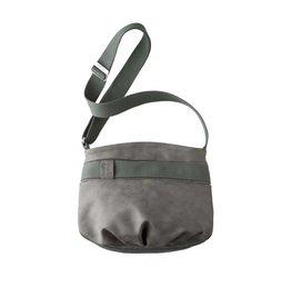 Slang Slang Face Vintage Small Cross Bag - Grey