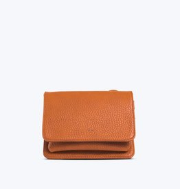 Colab Colab Sydney Fold Over Cross Body (#6043) - Cognac