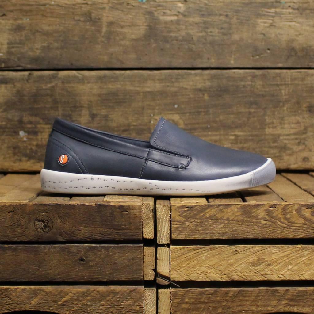 Softinos Softinos ITA Washed Leather - Navy