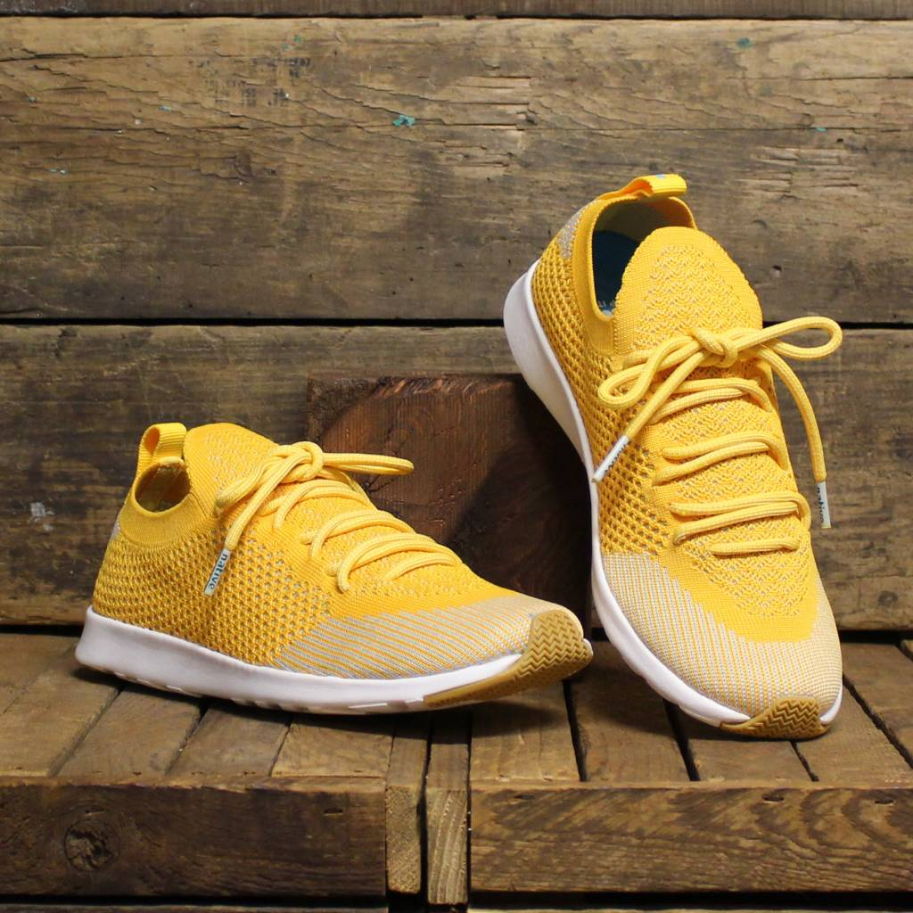 Native Native AP Mercury Liteknit - Groovy Yellow/Shell White/Natural Rubber