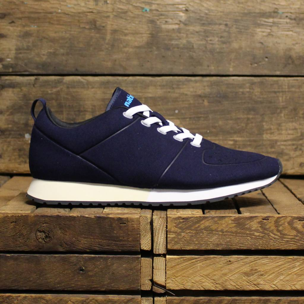Native Native Cornell - Regatta Blue/Shell White/Natural Rubber