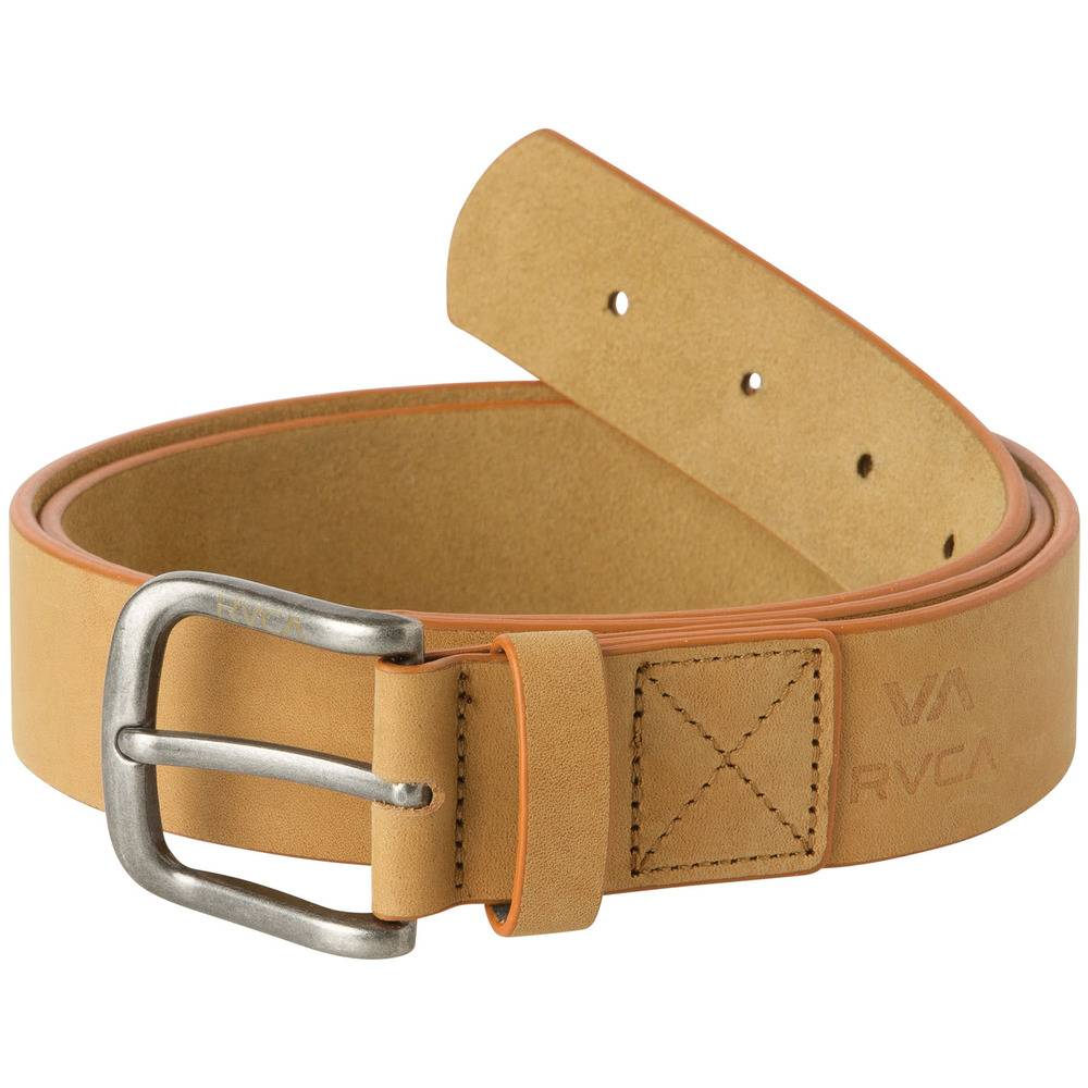 RVCA RVCA Truce Leather Belt - Tan