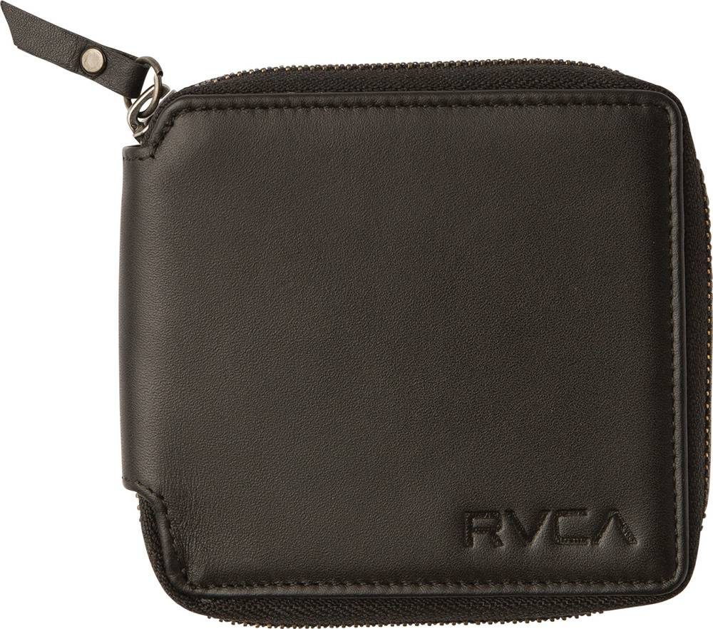 RVCA RVCA Zip Around Wallet - Black