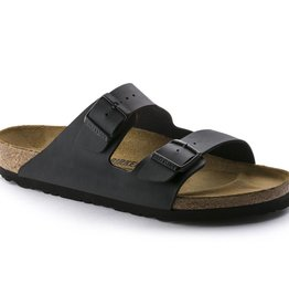 Birkenstock Birkenstock Arizona Birko-Flor (Women - Narrow) - Black