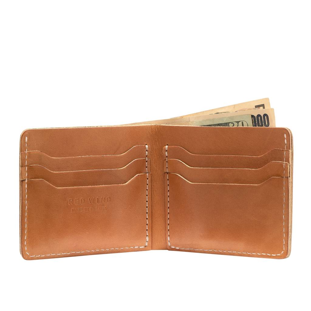 Red Wing Red Wing Classic Bifold 95026 - Vegetable-Tanned Leather