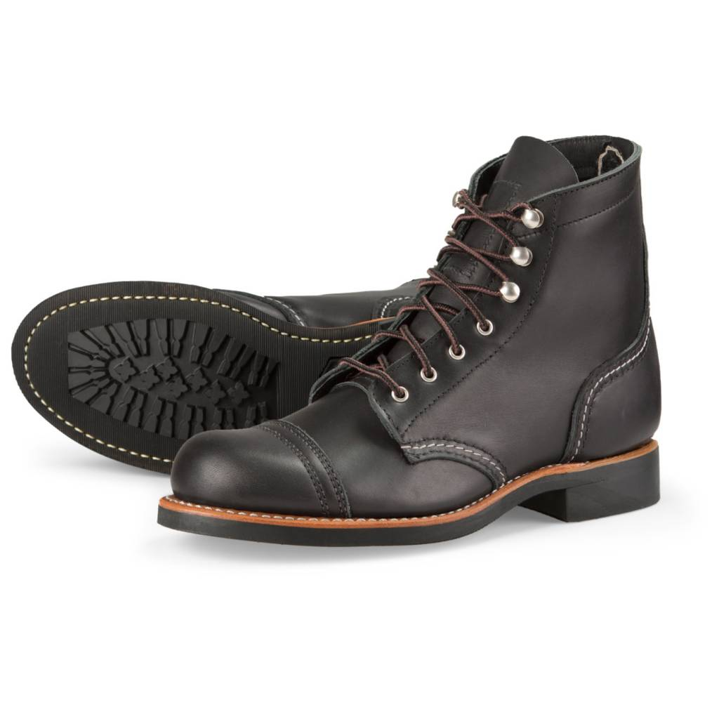 Red Wing Red Wing Women's Iron Ranger 3366 - Black Boundary