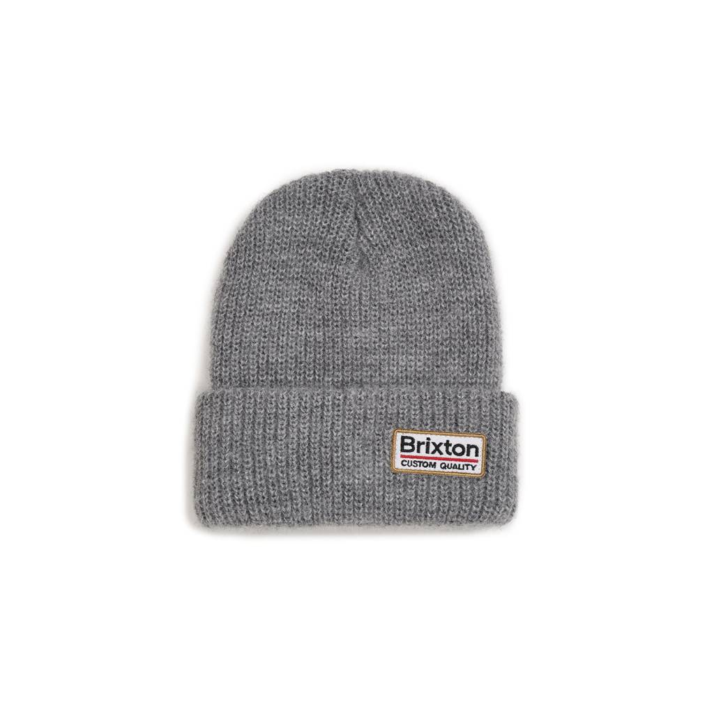 9ee100f8642 Brixton Palmer II Beanie - Light Heather Grey - Bottes et Baskets