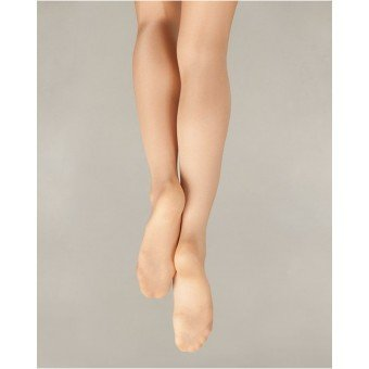 Capezio Ultra Shimmer Footed Tight 1808