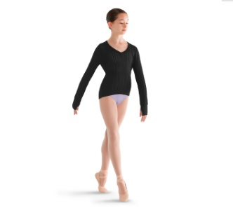 Bloch CZ6959 Long Sleeve Sweater
