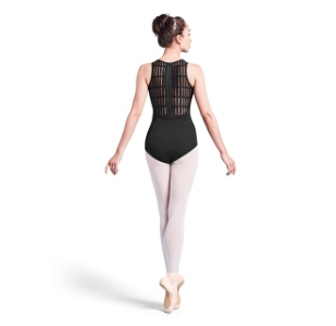 Bloch Sheer Ladder Zip Back Leotard M3049LM