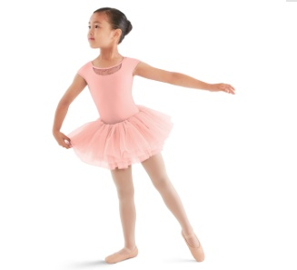 Bloch Cap sleeve tutu Leotard M669C