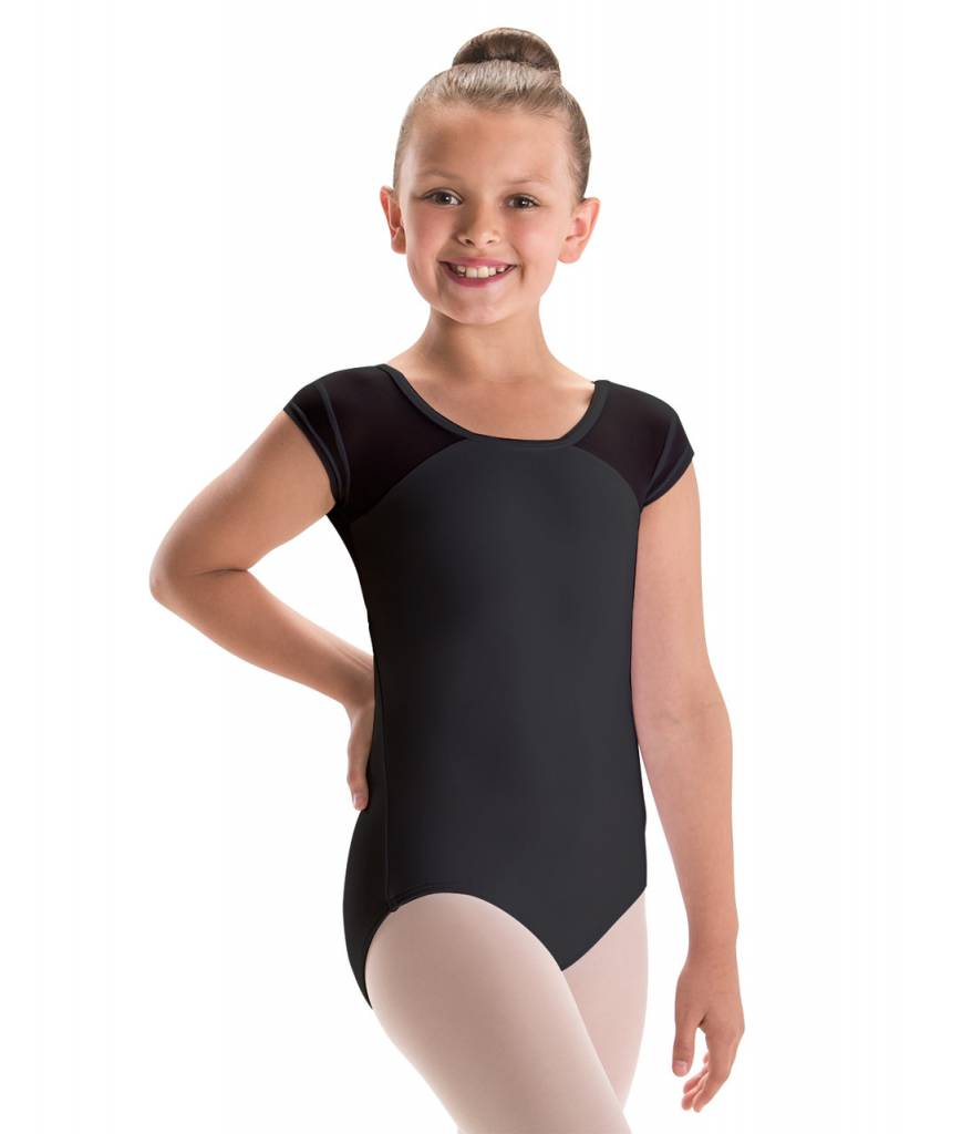 MW17 2259 Child Keyhole V-Back Leotard