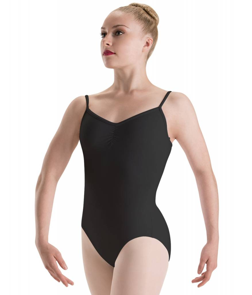 Motionwear MW17 ONLINE ONLY Adult Pinch Front, Loop Back Cami Leotard 2535