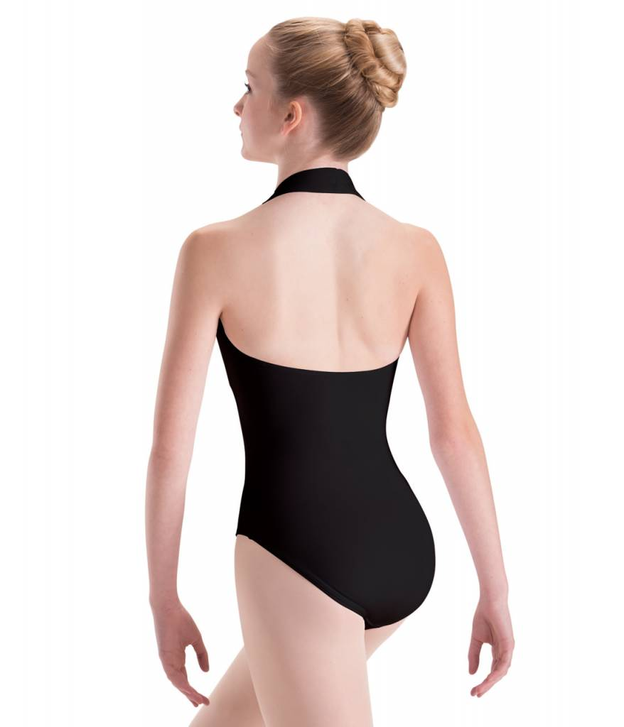 Motionwear MW17 ONLINE ONLY Adult Overlap Halter Leotard 2650