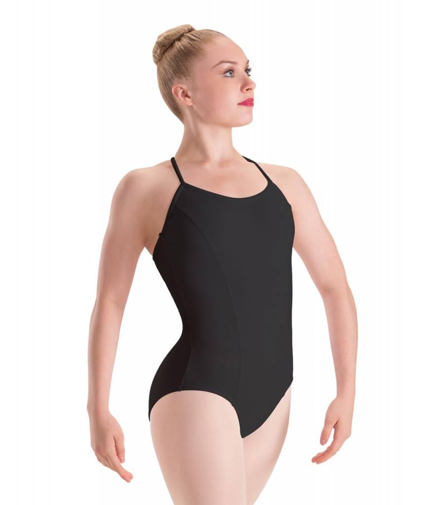 Motionwear MW17 Adult Princess Seam, 3-Cross Back Cami Leotard 2680