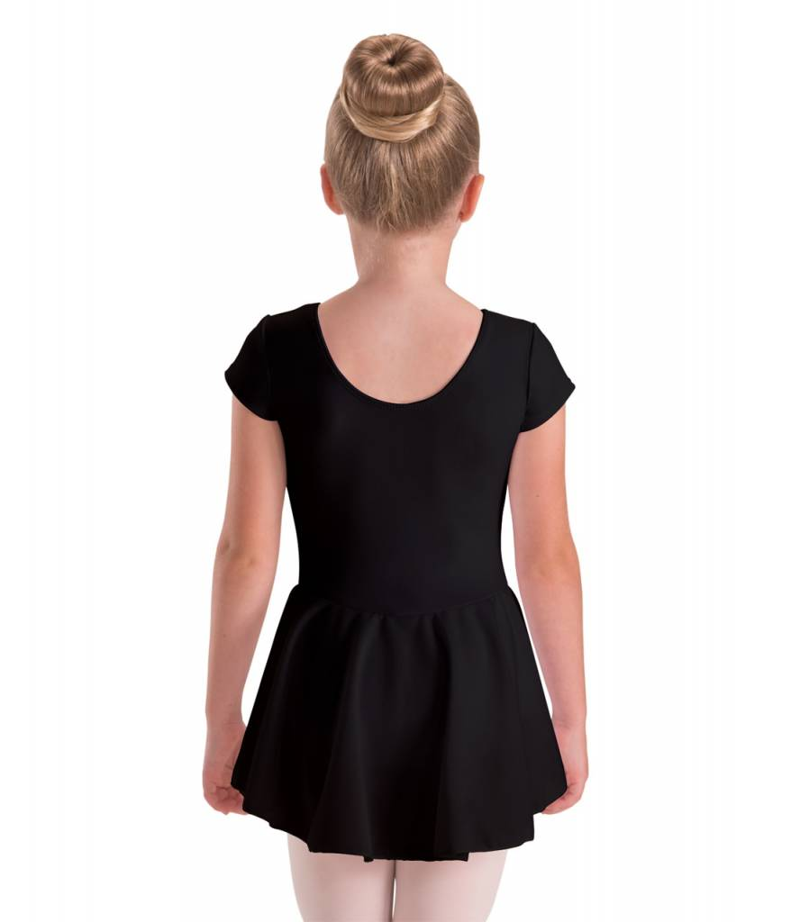 Motionwear MW17 ONLINE ONLY Child Cap Sleeve Skirted Leotard 4354