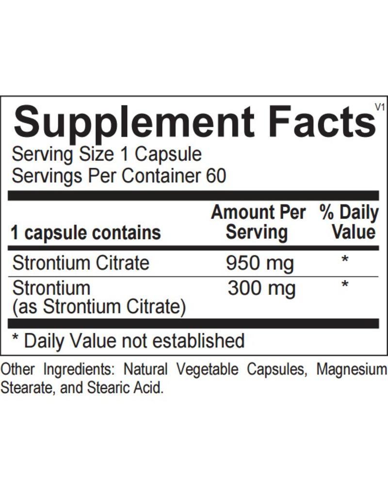 Strontium 60 ct