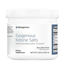Exogenous Ketone Salts - (Berry Blast) - 9.8 oz