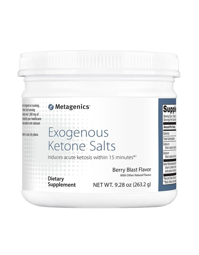 Exogenous Ketone Salts - (Berry Blast) - 9.8 oz