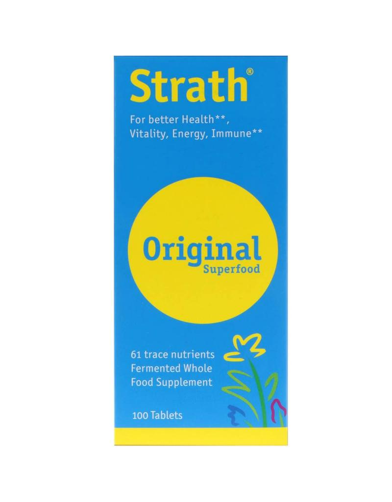 Strath® Tablets 100 ct (formerly Bio-Strath®)