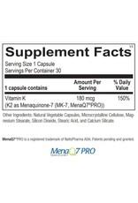 Vitamin K2 180mcg 60ct