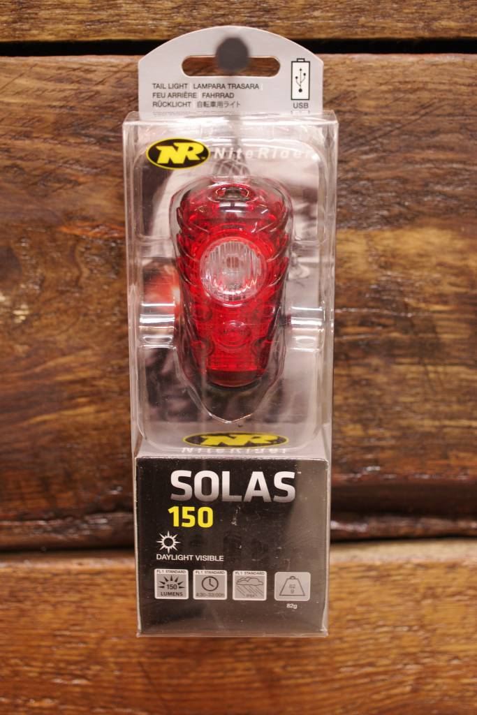 NiteRider Solas 150 Rechargeable (Rear)