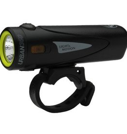 Light and Motion Urban 350 Rechargeable Headlight, Obsidian Stout